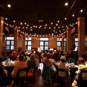 Town fundraiser with Dorothea Benton Frank (June 2016)