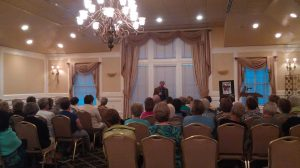 Library fundraiser evening with Charles Belfoure (Oct. 2015)