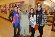 Authors Biance Turetsky, Cournety & Alyssa Shienmel with Courderoy The bear