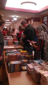 Books and more books at children's festival (2015)