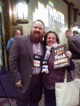 Sam with Top Chef Kevin Gillespie
