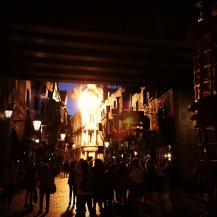 Goodnight from Diagon Alley