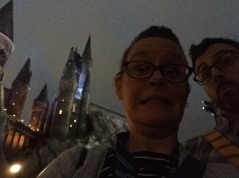 I was super excited about Hogwarts at night