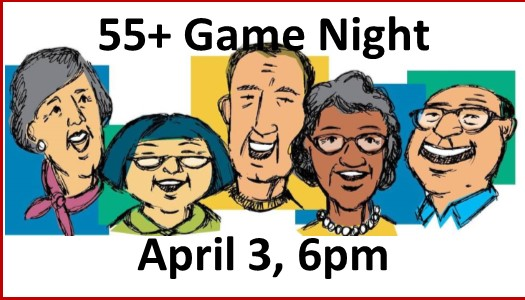 55 game night button